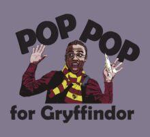 Pop Pop for Gryffindor! Kids Tee