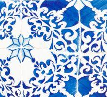 Blue tiles Sticker