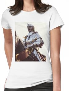 Knight In Shining Armour Womens Fitted T-Shirt
