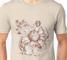 Smiling flowers Unisex T-Shirt