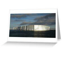 Panoramic Iceberg, Ross Sea, Antarctica Greeting Card