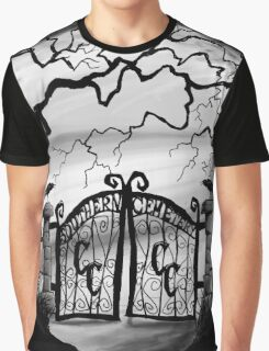 Southern Cemetery Graphic T-Shirt