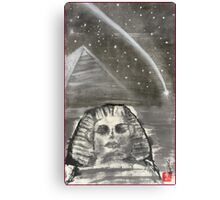 Sphinx and Pyramid I Canvas Print