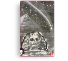 Sphinx and Pyramid I Canvas Print