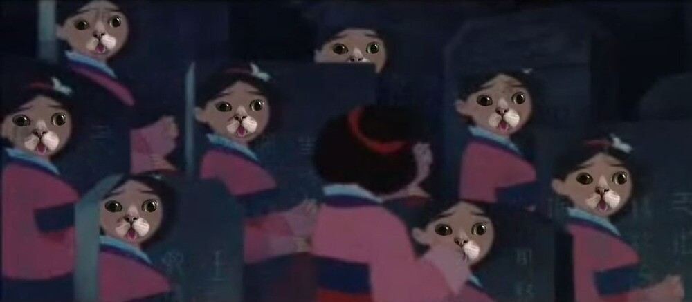 Mulan's real Reflection by ViankaSausages
