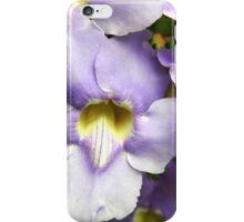 Purple Spring Flowers iPhone Case/Skin