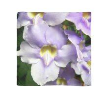 Purple Spring Flowers Scarf