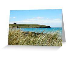 Godfreys Beach Stanley Greeting Card