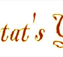 Lestat's Girl Sticker