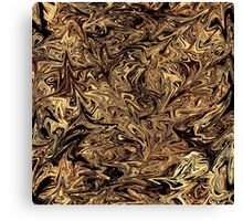 Coffee spilt Canvas Print