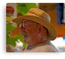 Vineyard Farmer Canvas Print
