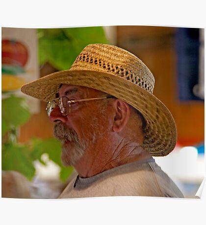 Vineyard Farmer Poster
