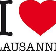 I ♥ LAUSANNE by eyesblau