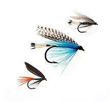 Fishing Lures Photographic Print