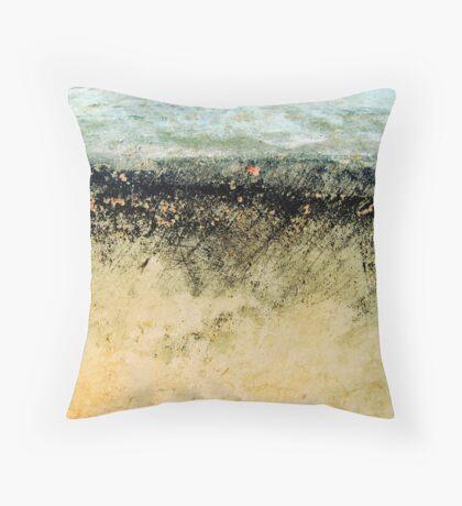 Wind in the Fields II Throw Pillow