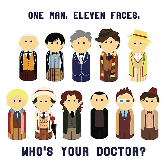 One Man, Eleven Faces by blafdesign