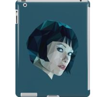Quorra - TRON Legacy | Olivia Wilde Low Poly iPad Case/Skin