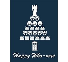 Happy Who-mas Photographic Print