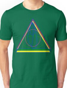 The Cloak, The Ring, and the Wand. Unisex T-Shirt