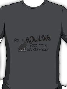 Howling Good Time T-Shirt