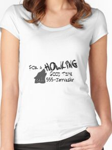 Howling Good Time Women's Fitted Scoop T-Shirt