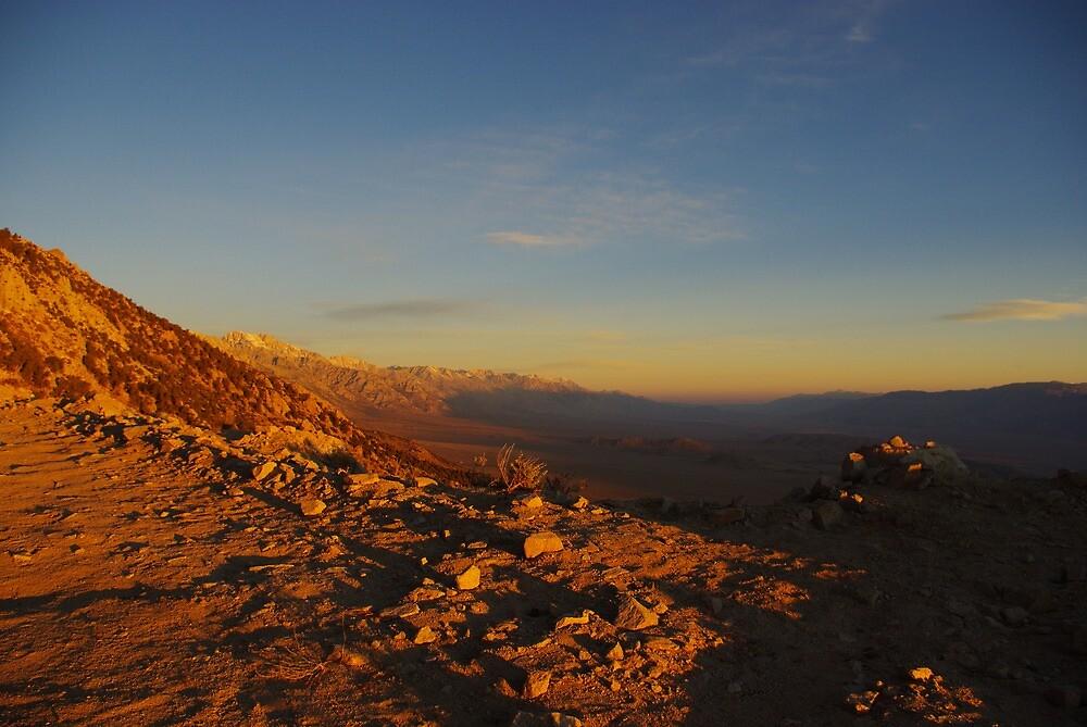 Early morning, Sierra Nevada by Claudio Del Luongo