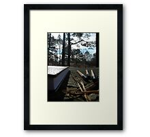 At the Park Framed Print