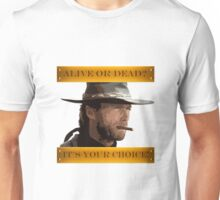 Clint Eastwood - A Fistful of Dollars - Spaghetti Western Unisex T-Shirt