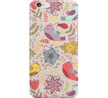 Birdy pattern iPhone Case/Skin