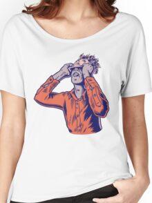 Techno Moderat Women's Relaxed Fit T-Shirt