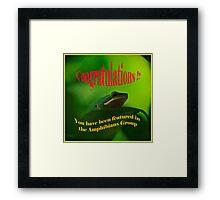 Amphibian Challenge Framed Print