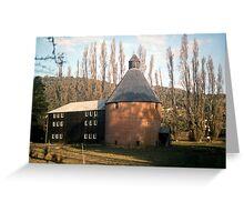 Oast House, New Norfolk, Tasmania—KODACHROME 64 Greeting Card