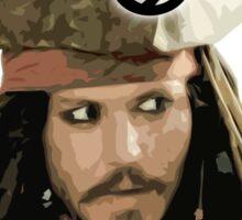 """Jack Sparrow say """"Savvy?"""" Sticker"""