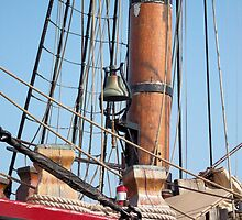 Bounty II (Ship's Bell) - Bay City - Tall Ship Celebration (2010) by Francis LaLonde