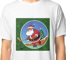 Santa Hockey Classic T-Shirt