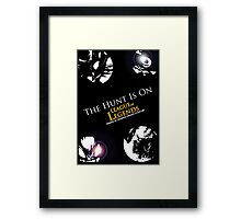 The Hunt Is On! Framed Print