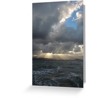 Sunset by sail - Port Douglas, Queensland Greeting Card