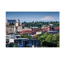Portland View from Sentinel Roof by Nicole Petegorsky