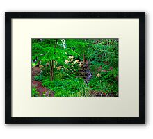 The Beatrix Potter Garden in Birnam Framed Print