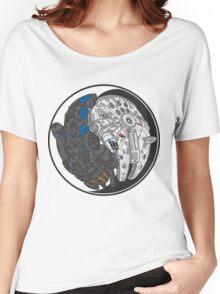 Sci-Fi Yin Yang Women's Relaxed Fit T-Shirt