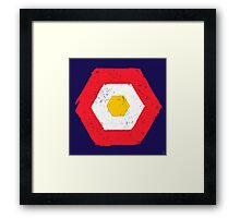 Hex No.4 Framed Print