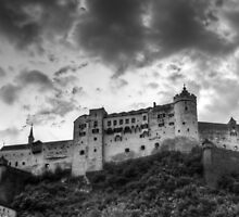 Salzburg Castle by antmason