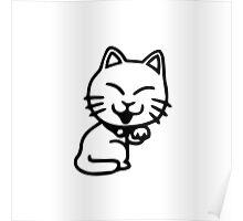 Cartoon Cat Poster
