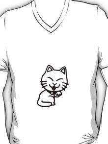 Cartoon Cat T-Shirt