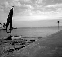 """""""Sailboat on Beach"""" by Chip Fatula by njchip123"""