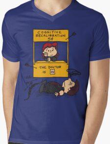 Cognitive Recalibration Mens V-Neck T-Shirt