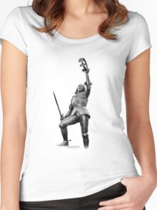 king Richard The Third  Women's Fitted Scoop T-Shirt