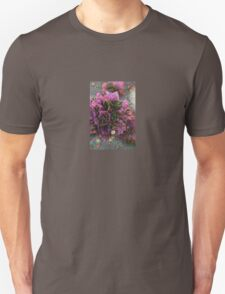 Pink Flower Cluster Machine Dreams T-Shirt