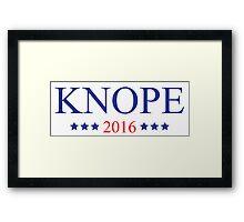 Knope 2016 Framed Print
