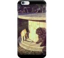 Neighborhood squabbles iPhone Case/Skin